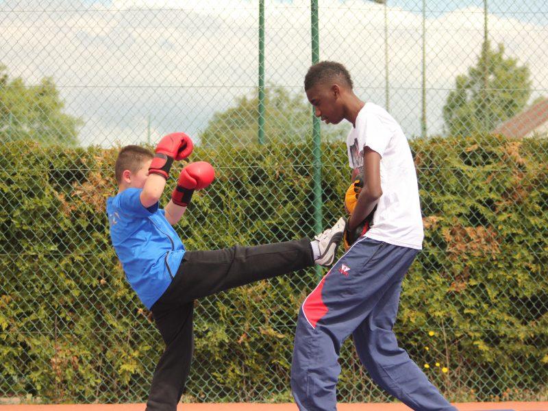 entrainement enfant boxe